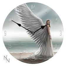 anne stokes clock spirit guide angel
