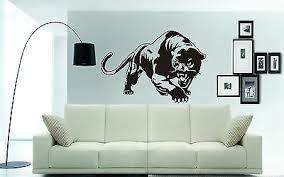 Black Panther Magic Window Self Adhesive Sticker Wall Art Decal Print Poster 3d