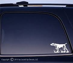 Amazon Com German Shorthaired Pointer Vinyl Decal Automotive