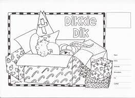 Sinterklaas Kleurplaat Dikkie Dik Kleurplaten Sinterklaas En