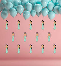 Amazon Com Princess Jasmine Wall Decals Disney Wall Decal Vinyl Mural Decor Art Decal Sticker Party Birthday Room Removable Wall Sticker Cik2467 Handmade