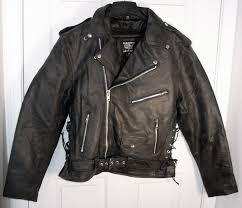 allstate mens classic black leather