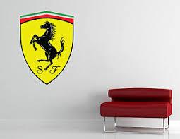 Ferrari Wall Decal Sport Luxury Car Art Vinyl Sticker Room Garage Decor L229 Ebay
