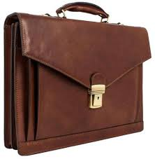 mens leather briefcase personalized