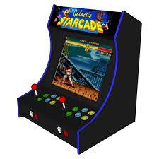 2 player bartop arcade machine powered