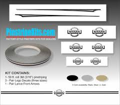 Factory Style Pinstripes For Dealers Nissan Kits