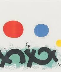 "ADOLPH GOTTLIEB ""IMAGINARY LANDSCAPE II"" SCREENPRINT, 1971 – Caviar20"
