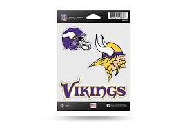 Nfl Football Minnesota Vikings Window Decal Sticker Set Officially Licensed Custom Sticker Shop