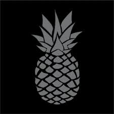 Pineapple Vinyl Decal Sticker Window Wall Car Bumper Laptop Decal Auto Parts And Vehicles Car Truck Graphics Decals Magenta Cl