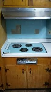general electric vintage cooktop with