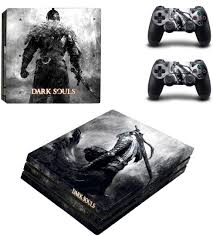 Amazon Com Dark Souls Whole Body Vinyl Skin Sticker Decal Cover For Ps4 Playstation 4 Pro System Console And Controllers Electronics