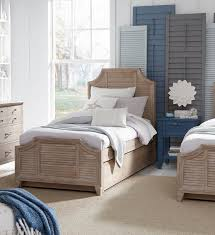Legacy Kids Beach House Driftwood Blue 2pc Kids Bedroom Set With Twin Trundle Bed The Classy Home