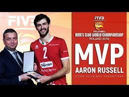 Aaron Russell   MVP FIVB Club World Championship 2018 - YouTube