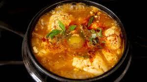 Beef Kimchi Silken Tofu Soup (Soondubu ...