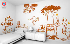 Baoab Tree Wall Sticker From E Glue For Babies And Kids Rooms