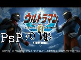 ultraman fighting evolution psp android