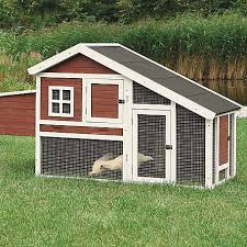 Trixie Pet Products Chicken Coop With A View Brown White At Tractor Supply Co