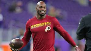 Adrian Peterson on Redskins Removing Monument of Former Racist ...