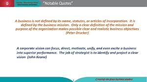 vision and mission statement ppt