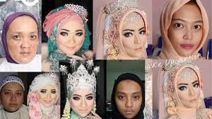 makeup tutorial pengantin indonesia