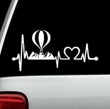 Home Decor Wine Glass Heartbeat Lifeline Decal Sticker For Car Window 8 Inch Bg 184 Thecorner Mx