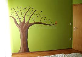 painted wall alone in universe