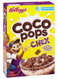 kellogg s coco pops chex kellogg s