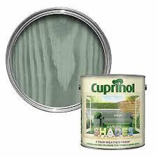 Cuprinol Garden Shades 1 Litre Paint Sheds Garden Wood 125ml Tins Ebay