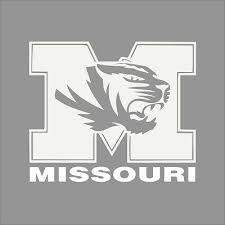 Memphis Tigers College Logo 1c Vinyl Decal Sticker Car Window Wall