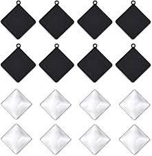 drole 60pcs diamond shape cabochon