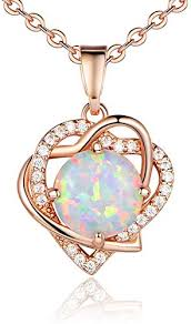 rose gold plated heart