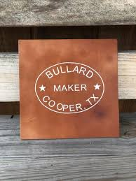 Bullard Leather Decal Bullard Leather Mfg