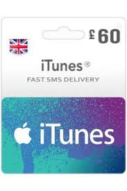 gbp60 itunes gift card uk instant