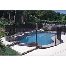 Gli In Ground Fence Section 4 X 10 Designer Black