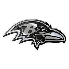 Baltimore Ravens Auto Emblem Premium Metal Baltimoreravens Baltimore Ravens Nfl Car Baltimore Ravens Logo