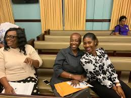 Department of Licensing and Consumer Affairs - DLCA St. John staff. Deputy  Commissioner Myrna George (left), Mrs. Estellita Petersen, Licensing  Officer (middle) and Ms. Veronique Charles, St. John Coordinator (right)    Facebook