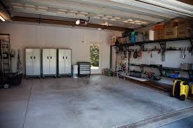 clean and organize your garage