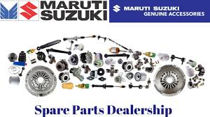 maruti suzuki spare parts dealership