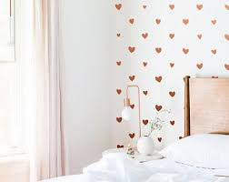 Heart Wall Decal Etsy