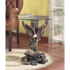 eagle table gorgeous wild wings decor