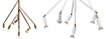 copper pendant lamps by jonas bohlin