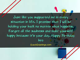 cute birthday wishes quotes and messages for brother