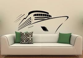 Amazon Com Cruise Ship Wall Decal Vinyl Sticker Cruise Liner Sea Ocean Home Interior Window Sticker Wall Decor 8c01s Home Kitchen