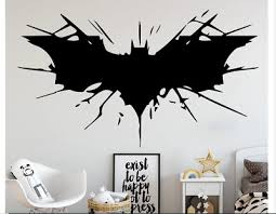 Creative Batman Vinyl Wall Stickers Wall Decor For Kids Room Boy Room Decorative Ebay