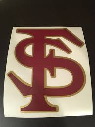 Florida State Decal Fsu Rtic Yeti Gifts Car Decal Truck Etsy