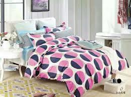 colour big polka dot pattern duvet