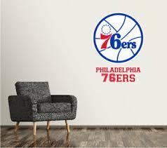 Philadelphia 76ers Wall Decal Logo Basketball Nba Art Sticker Vinyl Large Sr141 Ebay
