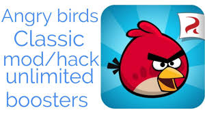 How to hack Angry Birds Classic game with unlimited All bossters , mod -  YouTube