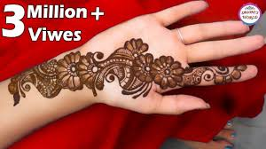 arabic mehndi design photos simple