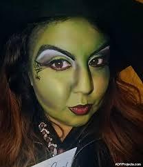 wicked witch halloween makeup tutorial